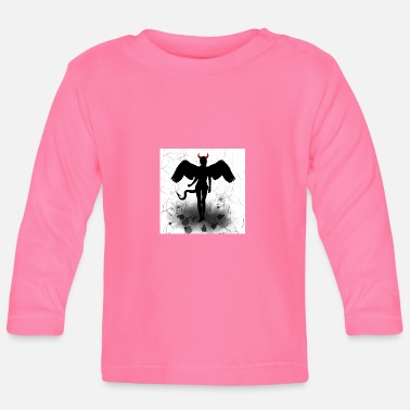 Angel and Devil - angel wings and devil horns - Baby Longsleeve Shirt