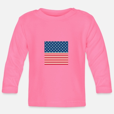 Stars And Stripes Stars and stripes - Baby Longsleeve Shirt