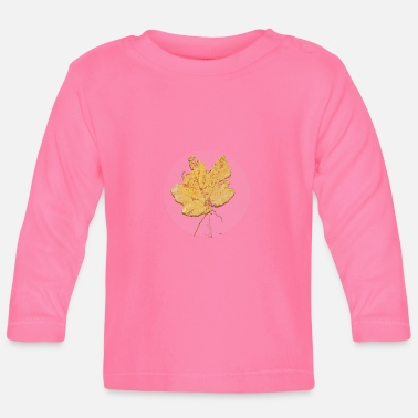 Leaf Maple Leaf Maple Leaf Leaf Leaves Herfst Herfst - Baby longsleeve