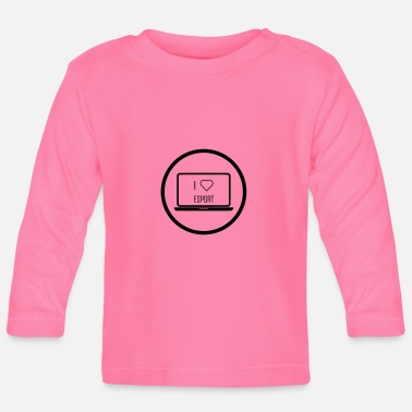 Gaming Nerd Esport Gaming Keyboard Games Nerd - Baby Longsleeve Shirt