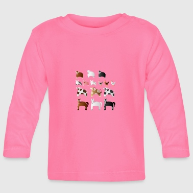 Farm Animal Farm animals - Baby Long Sleeve T-Shirt
