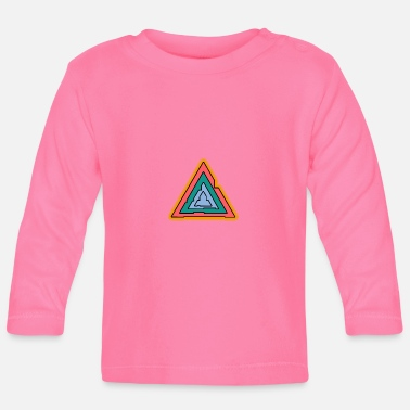 Triangle triangle - Baby Long Sleeve T-Shirt