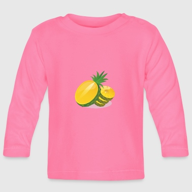 Fruity Fruity pineapple - Baby Long Sleeve T-Shirt