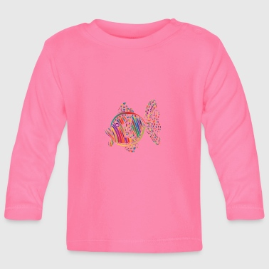 Limo the goldfish - Baby Long Sleeve T-Shirt