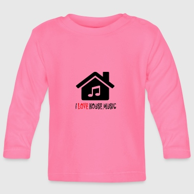 House Music House Party Shirt - Långärmad T-shirt baby