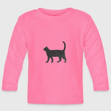 Cat marbled - Baby Long Sleeve T-Shirt