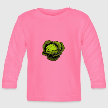 Cabbage Cabbage, cabbage, vegetables - Baby Long Sleeve T-Shirt
