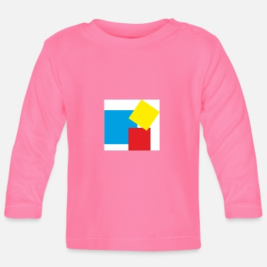 Rectangle rectangles - T-shirt manches longues Bébé