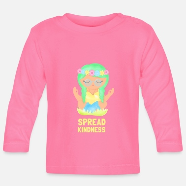 Spread Kindness - Baby Langarmshirt