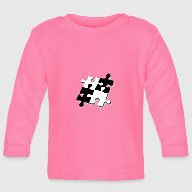 Puzzle pieces - Baby Long Sleeve T-Shirt