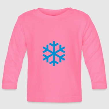 Snowflake Weather Icon Icon - Långärmad T-shirt baby