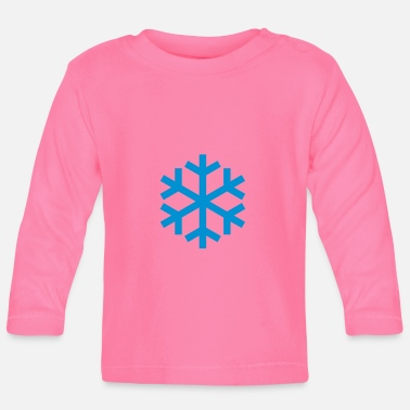 Icon Snowflake Weather Icon Icon - Långärmad T-shirt baby