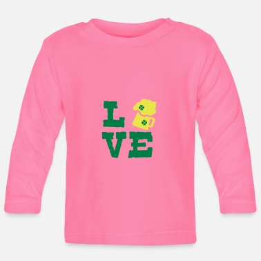 Green Beer LOVE GREEN BEER - Baby Longsleeve Shirt