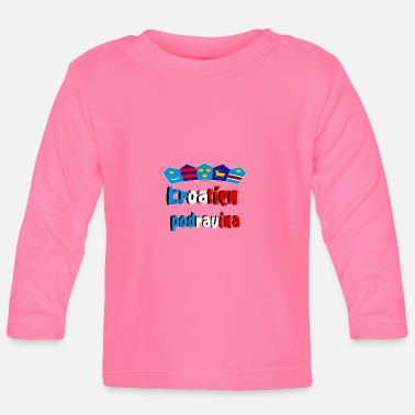 Region Croatia of the Podravina region - Baby Longsleeve Shirt