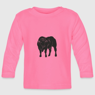 Bull Cow Farm Farm Animal Milk - Baby Long Sleeve T-Shirt