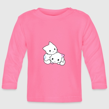 cats siblings - Baby Long Sleeve T-Shirt