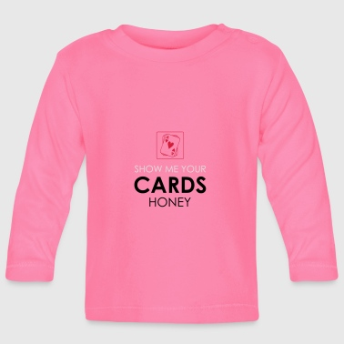 Poker Cards Card Game Texas Holdem Gift - Baby Long Sleeve T-Shirt
