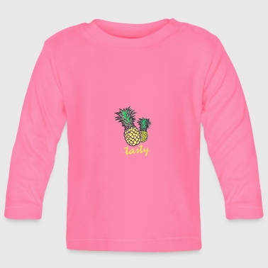 Tasty Tasty pineapple - Baby Long Sleeve T-Shirt