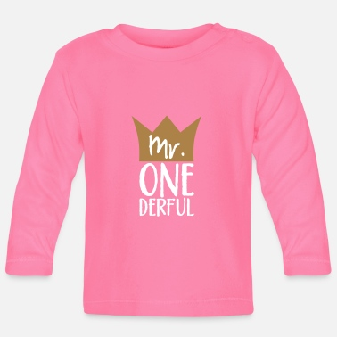 Sr. One Derful - Camiseta de manga larga bebé