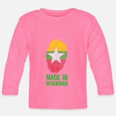 Burma Made In Myanmar / Burma / Burma - Baby Long Sleeve T-Shirt