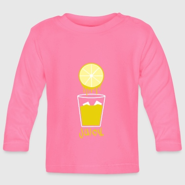 Lemon juice refreshment lemonade summer fruit - Baby Long Sleeve T-Shirt