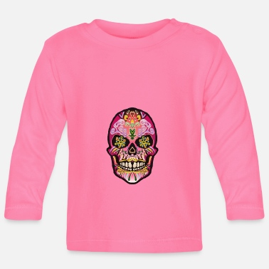 Mexican mexican mexican skull - Baby Longsleeve Shirt