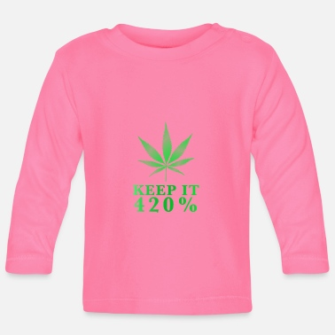 Hemp Keep it four twenty - Baby Longsleeve Shirt