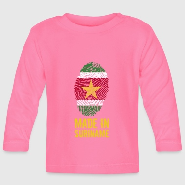 Made In Suriname / Surinam / sranan - T-shirt manches longues Bébé