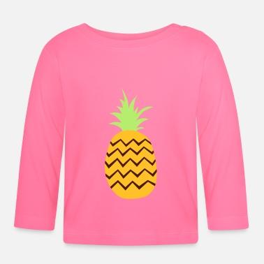 Ananas ananas - Långärmad baby T-shirt 38d6a0d933810