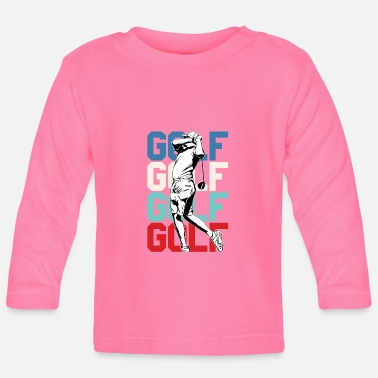 Golf golf - Camiseta manga larga bebé