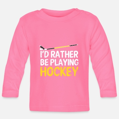 Hockey hockey - Camiseta manga larga bebé
