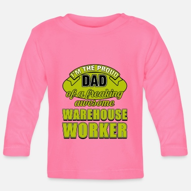 Worker WAREHOUSE WORKER DAD - Baby longsleeve