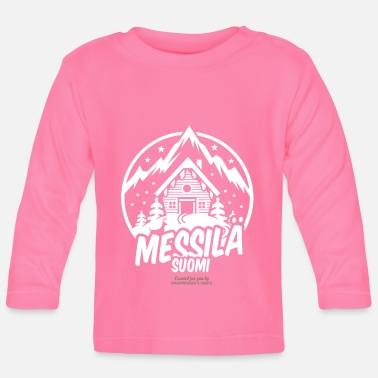 Ski Resort messilä suomi ski resort - Baby Langarmshirt