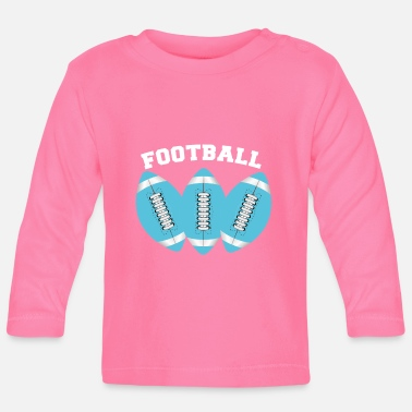 Triple Triple FOOTBALL - Baby Longsleeve Shirt