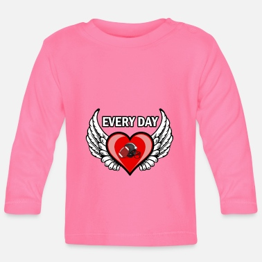 Day Every day ist football day - Baby Langarmshirt