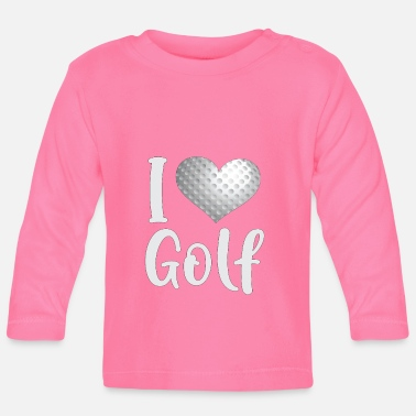 Just Golf Golf Ball Golf Club Gåva till golfare - Långärmad T-shirt baby