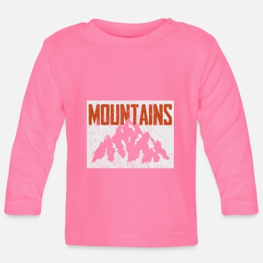 Icon Mountains Icon - Långärmad baby T-shirt