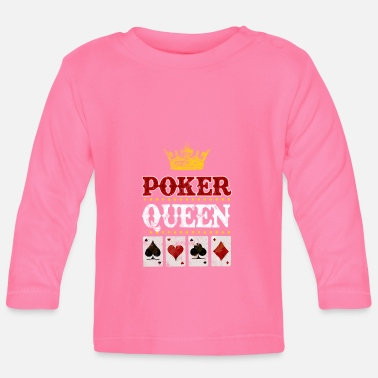 Cards Poker Queen Cards - T-shirt manches longues Bébé