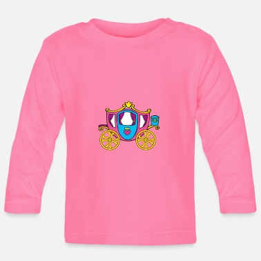 Transport Princesse de transport - T-shirt manches longues Bébé