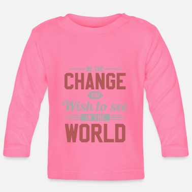 Change World Change Peace Love - T-shirt