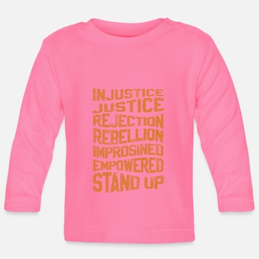 Injustice INJUSTICE REBELLION EMPOWERED - Baby Longsleeve Shirt