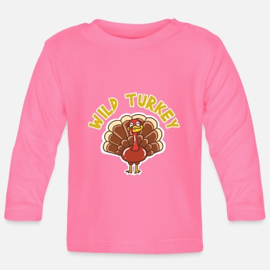 Turkey Thanksgiving - Baby Longsleeve Shirt