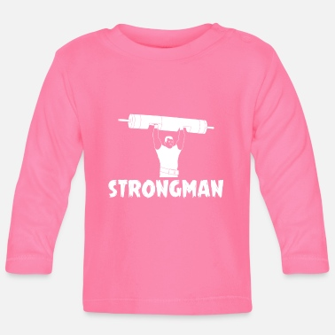 Elevator Strongman Log Lift T-Shirt - Baby Longsleeve Shirt