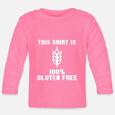 Bio This shirt is gluten free - Baby Longsleeve Shirt