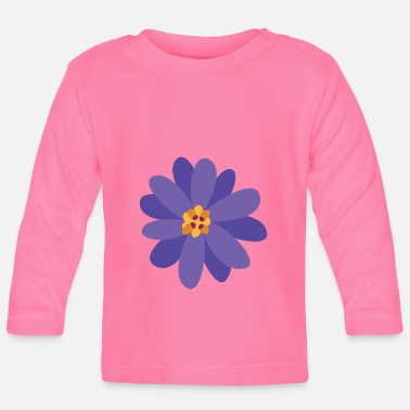 Collections Flower summer purple - Baby Longsleeve Shirt