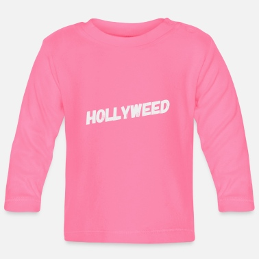 Cannabis Hollyweed - 420 Pothead Chiller Stoner Gras Weed - Långärmad baby T-shirt