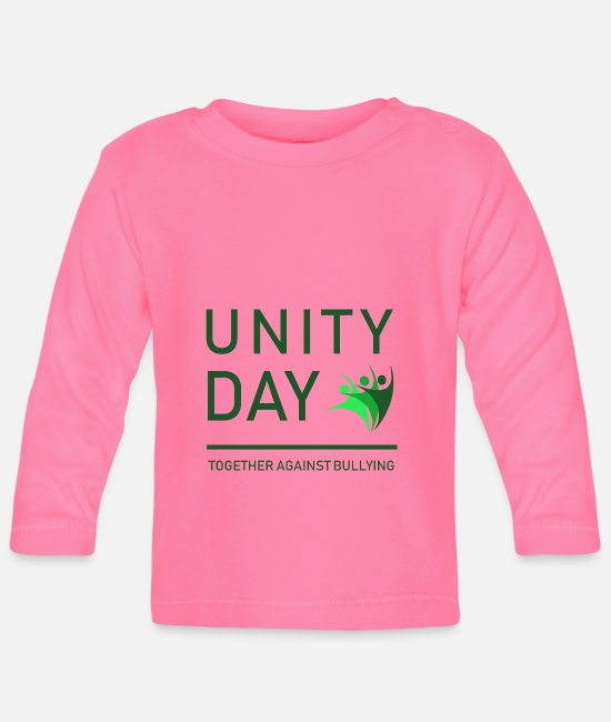Love Baby Clothes - Cool & Awesome Unity Tshirt Design Unity Day - Baby Longsleeve Shirt azalea