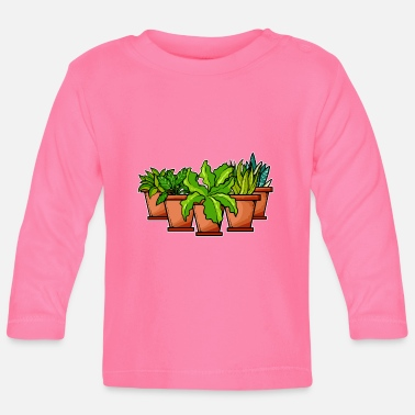 Plant Grounds plants - Baby Longsleeve Shirt