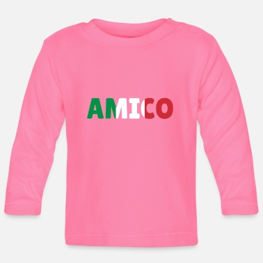 Friends Of Italy Amico friend Italy gift - Baby Longsleeve Shirt
