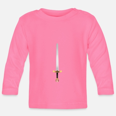 Golden knight sword - Baby Longsleeve Shirt